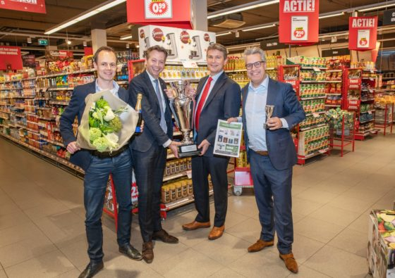 Dirk wint promotie-award