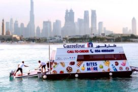 Carrefour opent 'sail through'-supermarkten