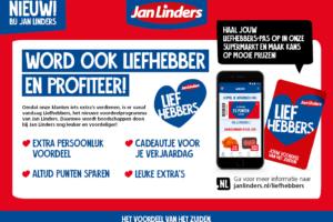 Jan Linders lanceert loyaliteitsprogramma