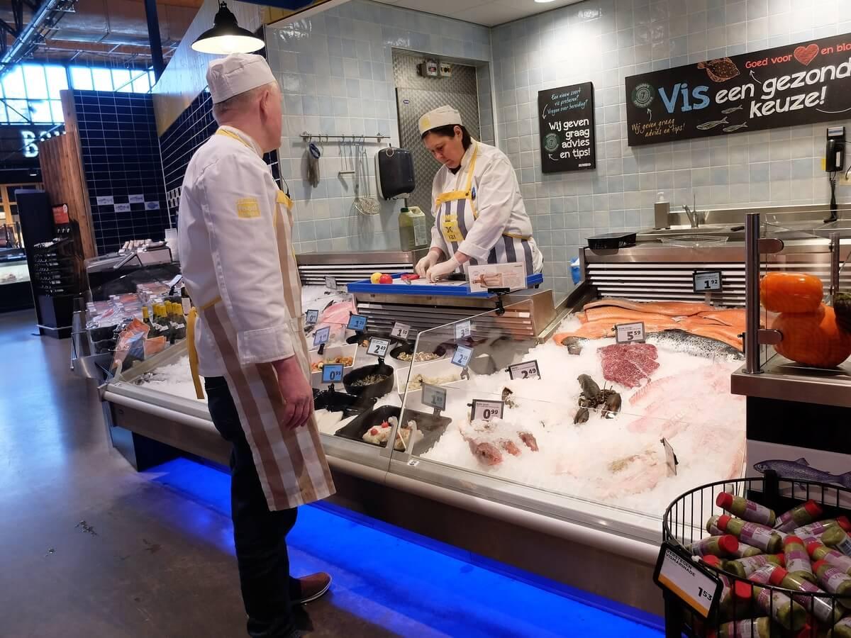 Assortimentstrends voor vis: Verse vis Foodmarkt Jumbo