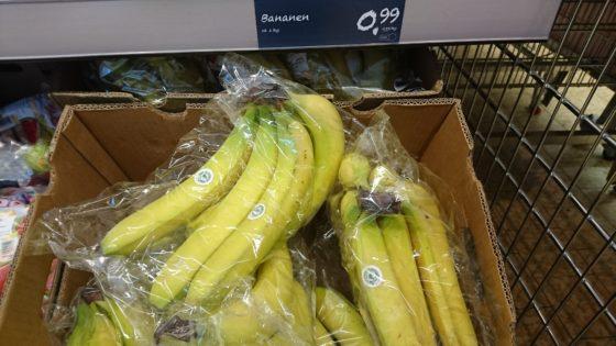 Aldi-bananen ook boven de €1