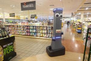 Honderden robots in winkels zusterketens AH
