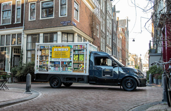 Jumbo gaat in heel Amsterdam bezorgen