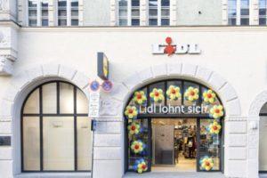 Lidl test city-format in München