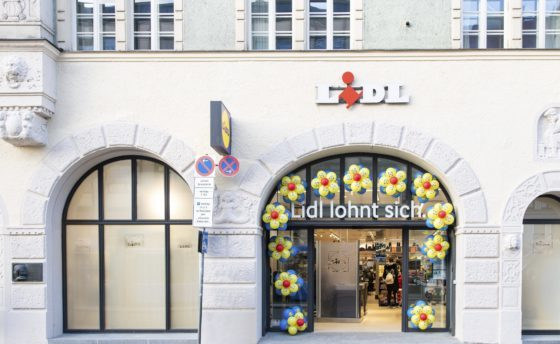 Lidl test city-format in München