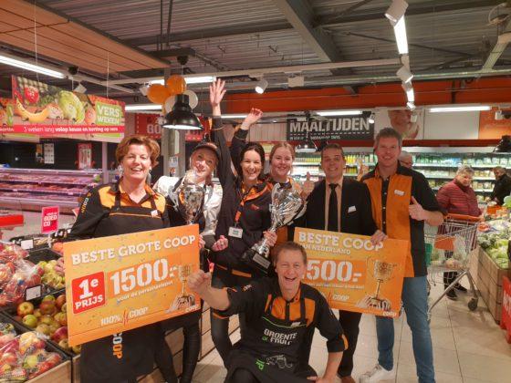 Serieprijzenpakker Coop Vroomshoop beste van Nederland