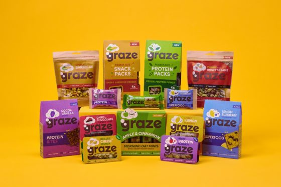 Unilever koopt gezondesnackleverancier Graze