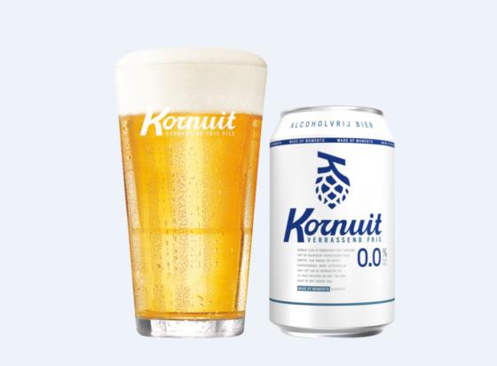Grolsch introduceert Kornuit 0.0%