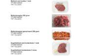 Hoogvliet roept biefstuk terug om salmonella