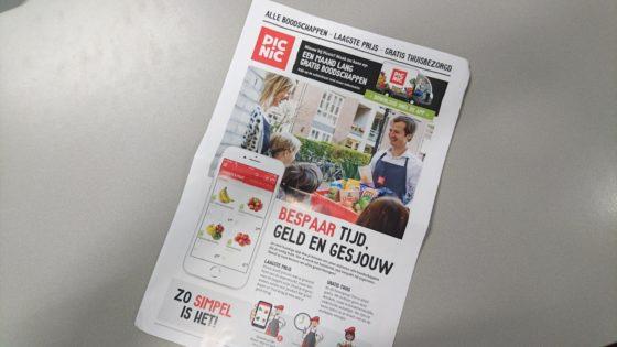 Picnic wil klanten via huis-aan-huisfolder