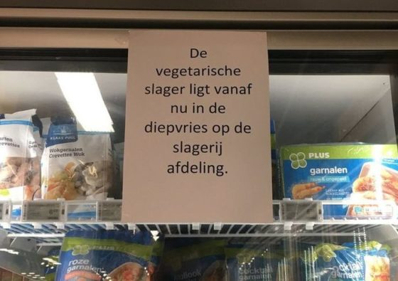 Plus-mededeling is 'grappigste taalvout'