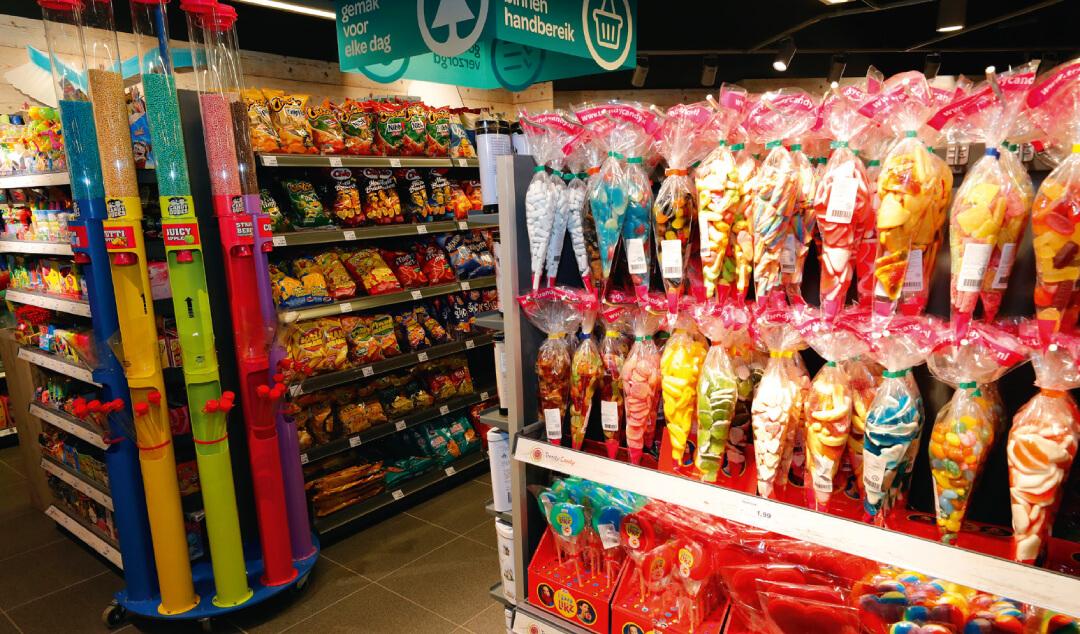 Snoep is typisch een product waarvoor mensen tijdens een vakantie graag wat meer uitgeven