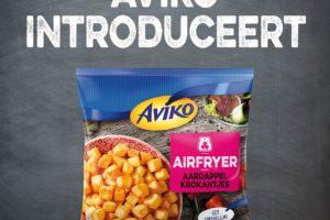 Aviko introduceert nieuwe Airfryer Aardappelkrokantjes