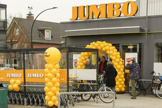 Pijlsnelle modernisering Jumbo-winkels