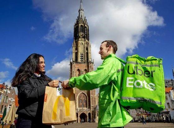McDonald's start McDelivery in Delft en Rijswijk