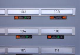 Folders in brievenbus zonder sticker: wie is de overtreder?