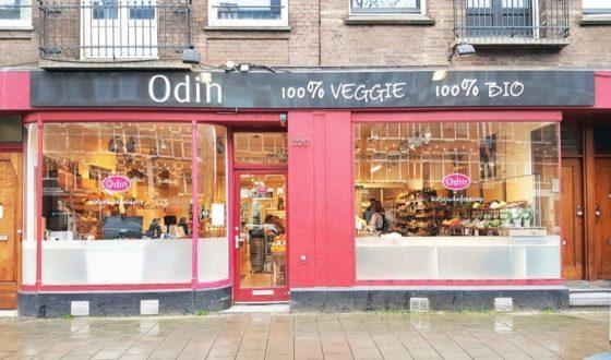 Odin opent veggie concept-winkel