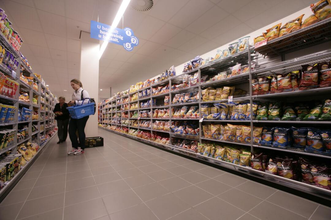 Salty snacks, waar chips onder vallen, groeien best flink. Zeker met zo'n 5 procent