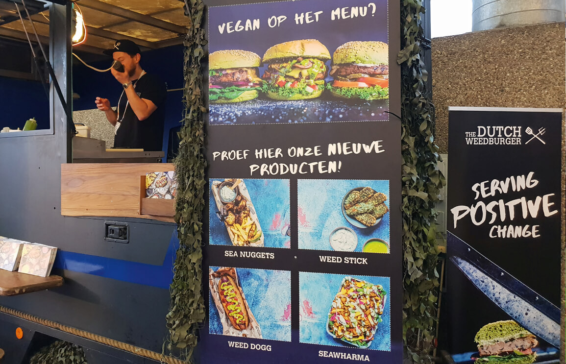 The Dutch Weedburger doet het volledig plantaardig