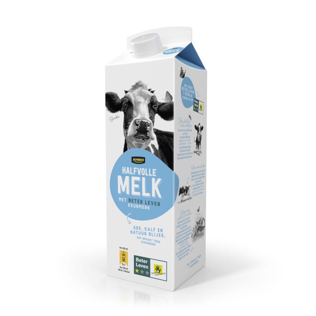 Halfvolle melk van Jumbo