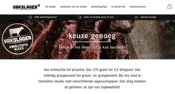 AH zet online in op bijzonder rundvlees