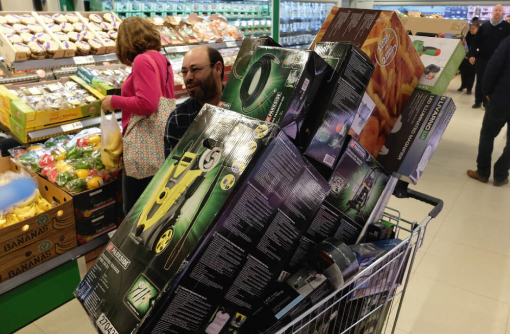 Lidl stunt er online op los met non-foodacties