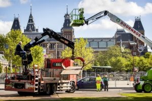 AH Museumplein dicht vanwege Ajax-feest