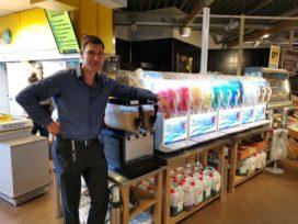 Jumbo Groeneveld: 'IJs, slush én ijskoffie, het is niet aan te slepen'