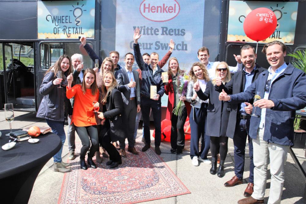Winnaar categorie Home Care & Cleaners en Speciale Wheel Meest Margetoevoegend