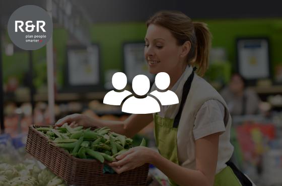 Personeelsplanning in een supermarkt