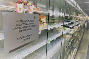 Fotorepo: AH Arnhem kapotte koeling