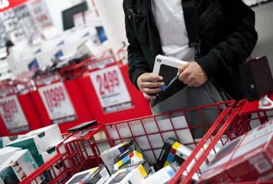Schade door winkeldiefstal naar €2,4 miljard