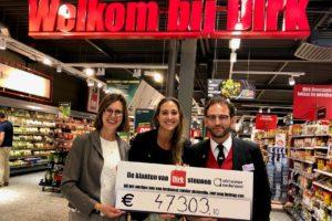Dirk-klanten doneren €47.000 aan Alzheimer