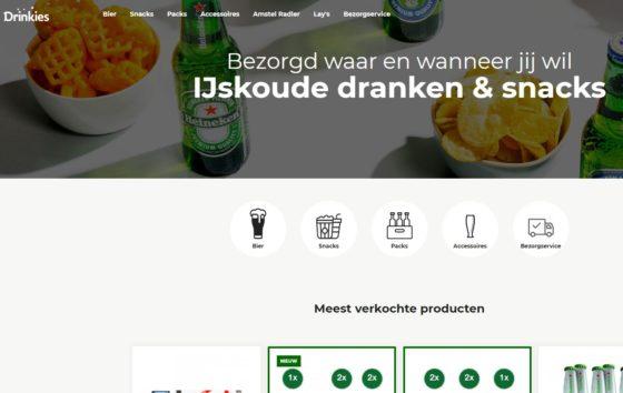 Heineken bezorgt landelijk bier met Drinkies