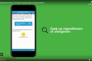 App Voedingscentrum laat allergenen zien