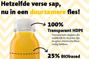 Jumbo zet duurzame stap met sapverpakking