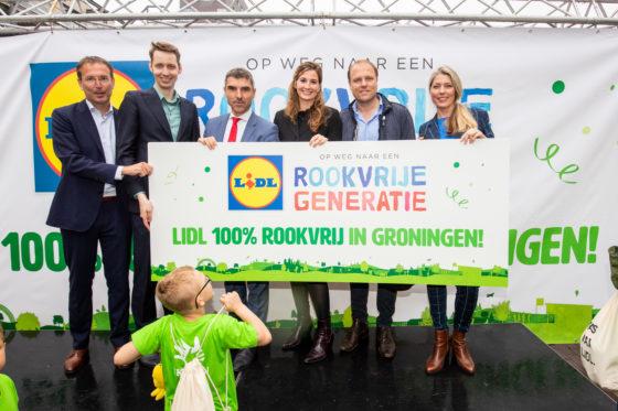 Lidl: Winkels in Groningen rookvrij