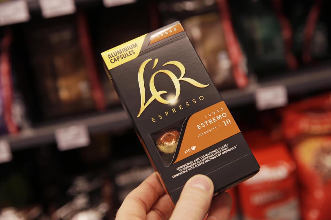 Met nog geen 10 % van het volume zijn capsules goed voor meer dan 20% van de koffieomzet