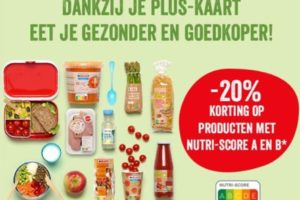 Delhaize introduceert Nutri-Score-korting