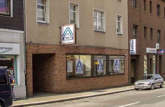 Aldi sluit oer-vestiging in Duits Essen