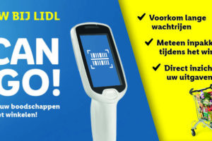 Lidl test handscanner: Lidl Scan & Go