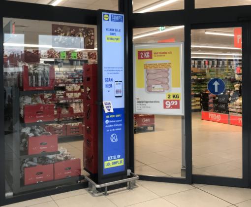 Lidl start in België met een afhaalservice