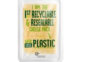 FrieslandCampina bespaart op plastic bij kaas