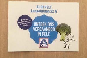 Aldi in Pelt reageert op Jumbo met versaanbod