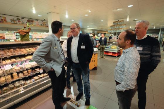 Giel Smits in gesprek met Jumbo-ondernemer Peter de Wit uit Scherpenzeel