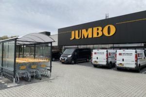 Fotorepo: Jumbo België een week voor opening