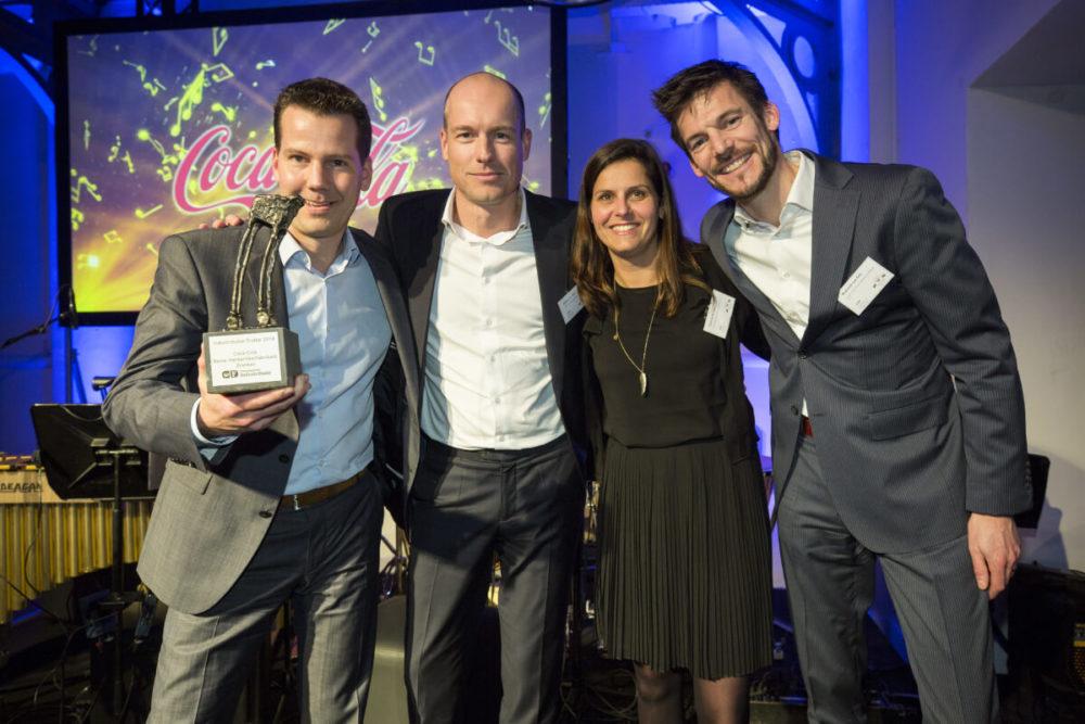 Winnaars Industributie: Coca-Cola