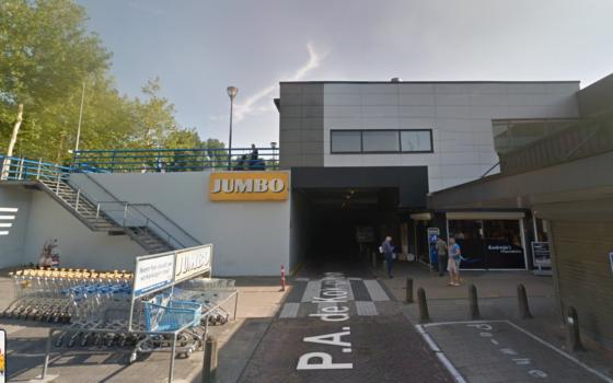 Steekpartij in Jumbo Dordrecht: 1 gewonde