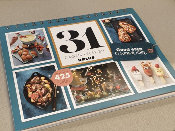 Plus lanceert 'dwars' feestdagenmagazine