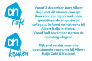 AH start met Albert Heijn Café & Keuken